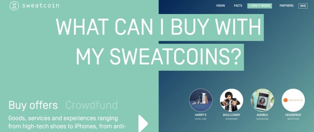 Comment récupérer l'argent sur Sweatcoin ?