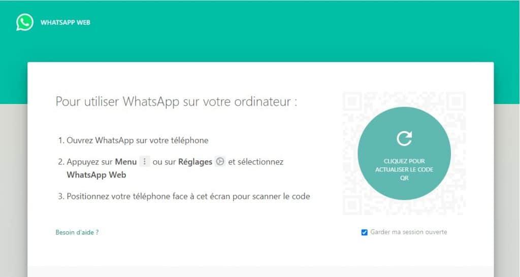Comment se connecter à WhatsApp Web ?